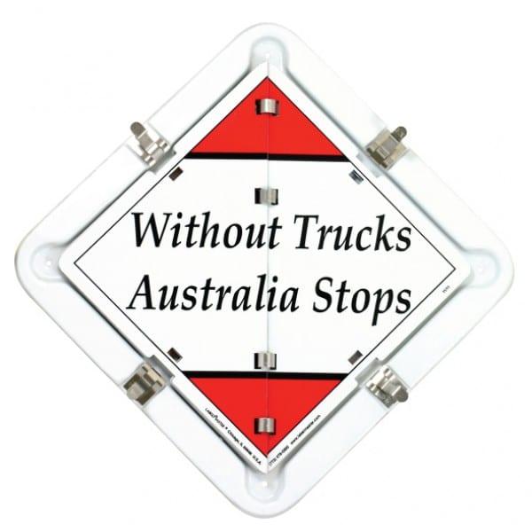 Dangerous Goods Flip Kit - Without Trucks Australia Stops