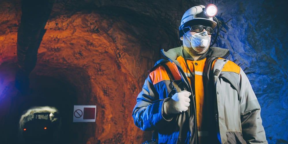 Underground miner