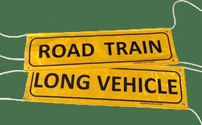 Road Train Flip Banner